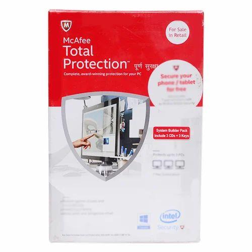 McAfee Total Protection Antivirus Software - G  K  Infotech