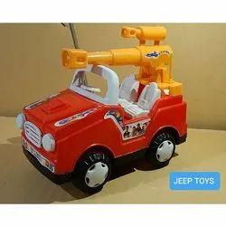 Kids Plastic Jeep Toy