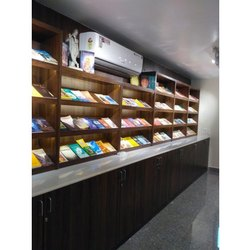 Library Interior Designing Service, Work Provided: Wood Work & Furniture