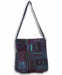 Indigo Blue Ethnic Hand Embroidery Bag