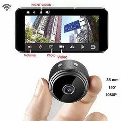 25-30 Mtr 2 MP Hidden Button Spy Camera