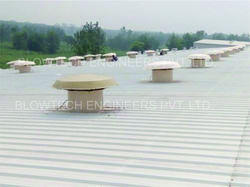 Powerless Aluminum Wind Ventilator, for Industrial Manufacturing Units
