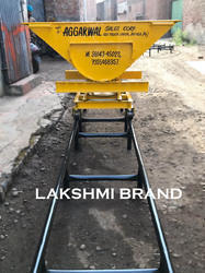 Slab Trolley with Rail