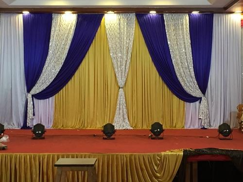 Flower Fabric Backdrop | Mandap Bazaar | Manufacturer in