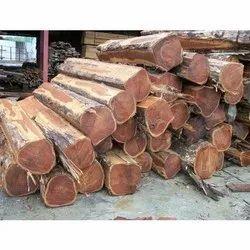 Teak Wood Log