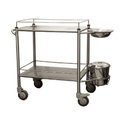 2 Shelves Dressing Trolley
