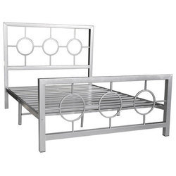 6354ea5e0cea Silver Stainless Steel Bed Frame, Rs 5500 /piece, Centroid | ID ...