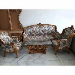 Wooden Carved Sofa Set, For Home,Hotels
