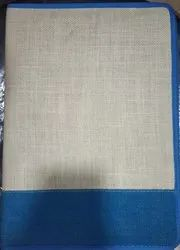 A4 Jute Conference Folder, for Office and School