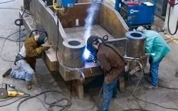 Heavy Steel Fabrication Service