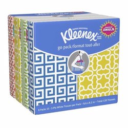 Kleenex Facial Tissue Pouch, Packaging Type: Packet