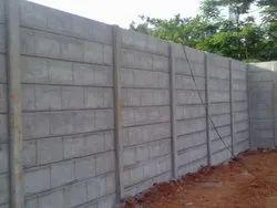 Concrete Compound Wall Construction Service