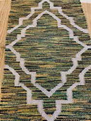 Printed Jute Wool Rug