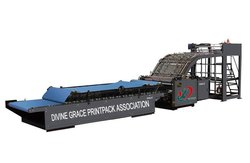 Semi Automatic Flute Laminator With Up & Down Lift Attached
