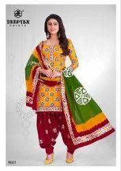 Salwar Kameez Deeptex Batik Plus 9 Pure Cotton Printed Dress Material Collection