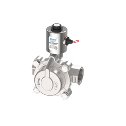 Uflow 2 Piston Operated Steam Solenoid Valve, Stainless Steel