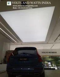 Car Showroom Backlite Ceiling