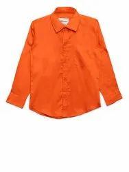 Orange AJ Dezines Kids Casual Shirt For Boys