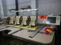 SWF Brand Used 4 Head Embroidery Machine