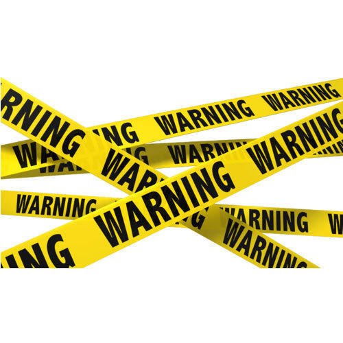 Yellow Caution Tape Size 250m Rs 120 Roll Jai Ambay Industrial Equipment Id 19243739730