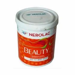 Nerolac Smooth Finish Interior Emulsion Paint, Packaging Type: Bucket, Packaging Size: 1l