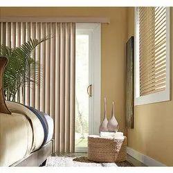 Brown PVC Door Blinds