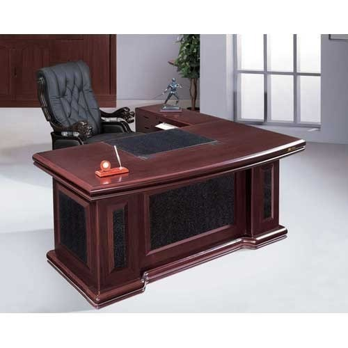 executive wooden office table, lakdi ki office ki mez, wood office