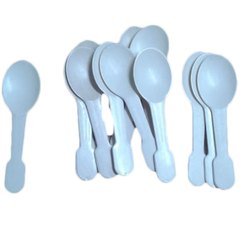 Blue Plastic Ice Cream Spoon for Home
