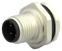 M12 4Pin Male Panel Mount Connector