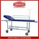 Patient Trolley 2 Section Deluxe