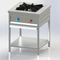 Standard Single Burner Bulk Cooking Range, For Commercial Kitchen