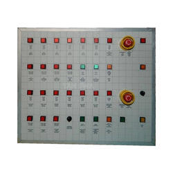 Three Phase Semi Automatic Mimic Panel