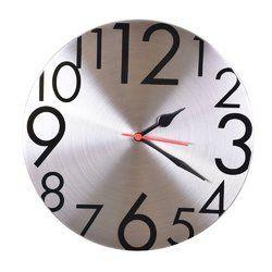 Designer Quartz Steel Wall Clock