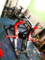 Back Rowing Free Weight