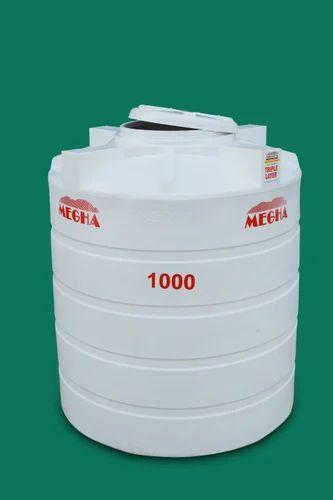 Lldpe Water Tank 3 Lyr White 500 Ltr 3 Lyr 1000 Ltr Rs 7700 Piece Id 20295879973