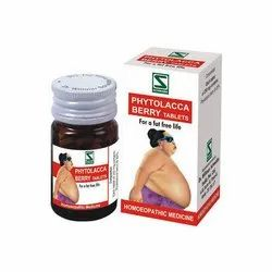 Schwade Phytolacca Berry Tablets, Packaging Type: Bottle, Packaging Size: 25 Gm