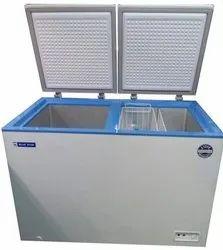 Electric Blue Star CHFDD300DSW Double Door Deep Freezer, Capacity: 285 L