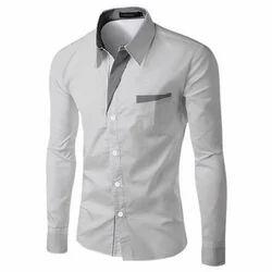 Regular Wear Cotton/Linen Mens Formal Shirt