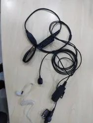MOTOROLA GP-328/338 CLEAR-TUBE HANDFREE
