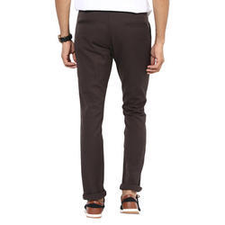 Casual Mens Slim Fit Cotton Trouser, Size: 36