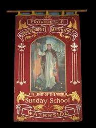 Religious Cloth Banner