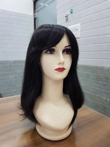 Human Hair Wig With Fringe Style