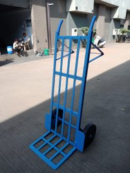 Siddh Krupa Mild Steel Luggage Trolley