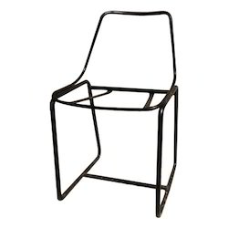 Black Dining Chair Frame