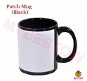 Sublimation White Patch Mug