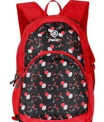 Red Design School Backpack