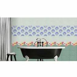 Digital Stylish Bathroom Tile, Thickness: 10-15 mm