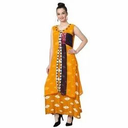 LKAAAF-17C Round Neck Ladies Kurti