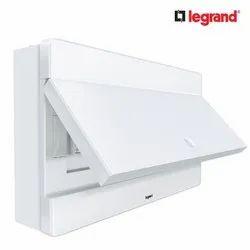 Metal + Plastic Legrand Duo Box 12 Module Classic White Electrical Distribution Box