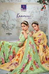 Shangrila Kaamini Vol-11 Floral Printed Saree